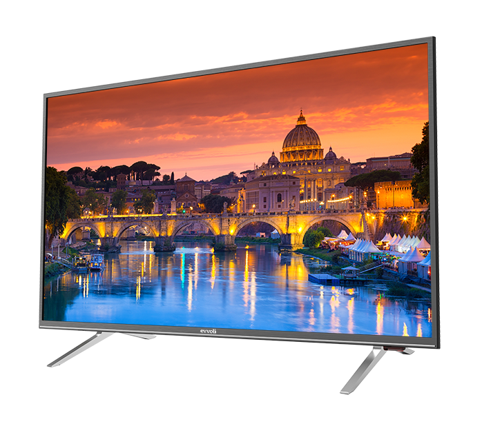 تلویزیون 58 اینچ 4K ایوولی مدل 58EV200US