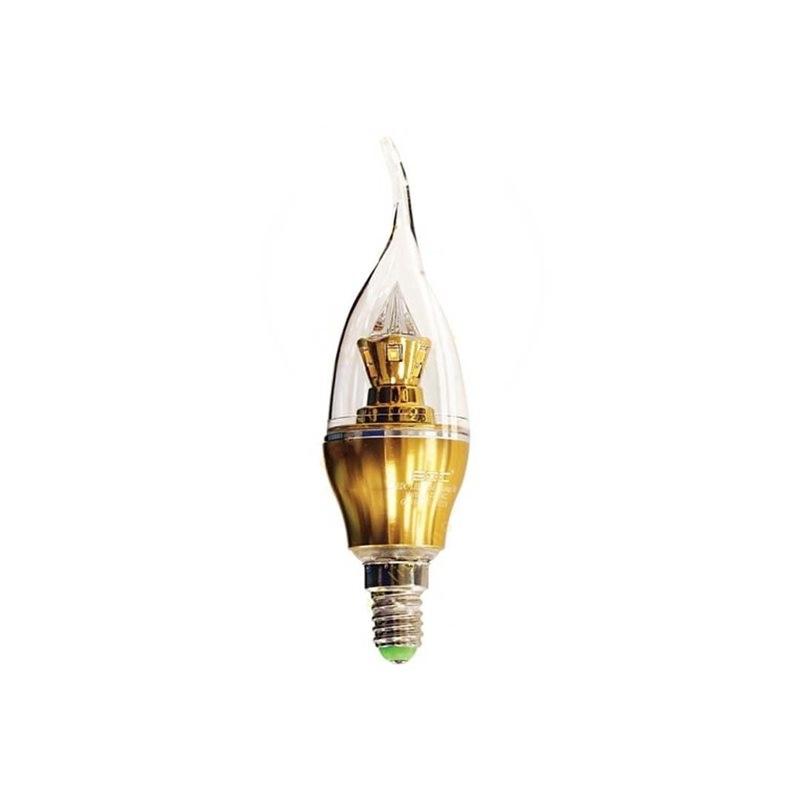 لامپ اشکی 5 وات پایه طلایی EDC