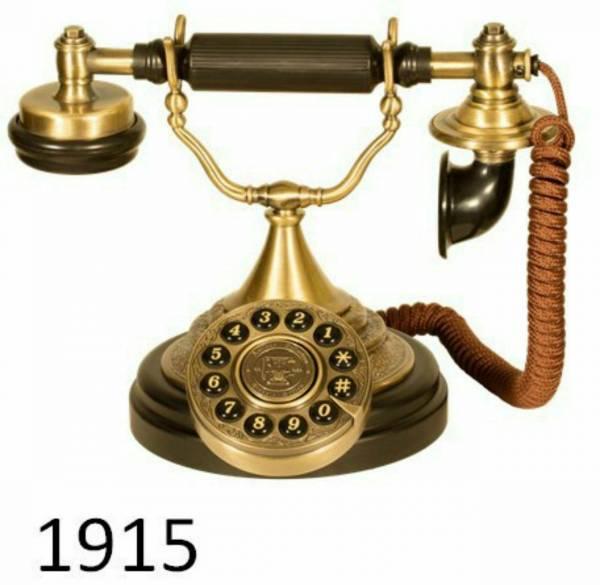 تلفن آنتیک ۱۹۱۵
